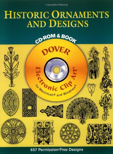 Historic Ornaments and Designs (Dover Electronic Clip: Dover