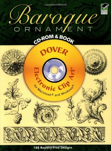 9780486995809: Baroque Ornament CD-ROM and Book (Dover Electronic Clip Art)