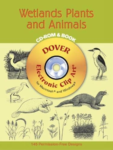 9780486995830: Wetlands Plants and Animals CD-ROM and Book (Dover Electronic Clip Art)