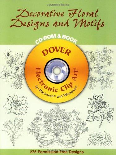 9780486995946: Decorative Floral Designs and Motifs