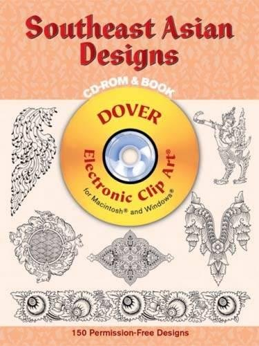 9780486996004: Southeast Asian Designs CD-ROM and Book (Dover Electronic Clip Art)