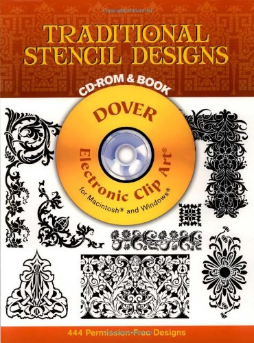9780486996011: Traditional Stencil Designs (Book + CD-ROM)