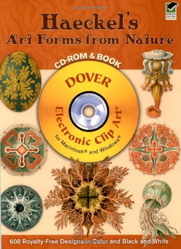 9780486996028: Haeckel's Art Forms from Nature CD-ROM and Book (Dover Electronic Clip Art)