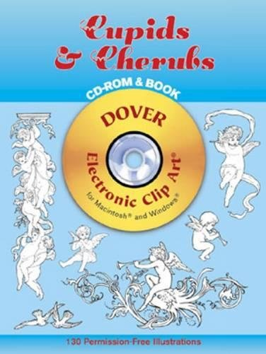 9780486996080: Cupids and Cherubs (Dover Electronic Clip Art)