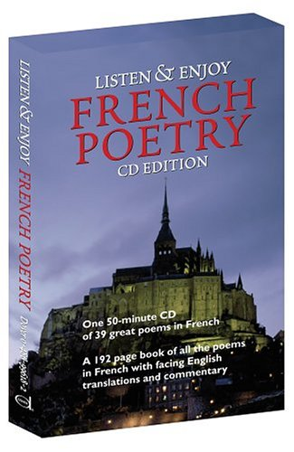 9780486996189: Listen & Enjoy French Poetry (CD Edition) (Dover Language Guides Listen and Learn)