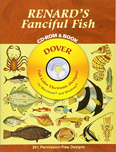 9780486996233: Renard's Fanciful Fish CD-ROM and Book (Dover Electronic Clip Art)