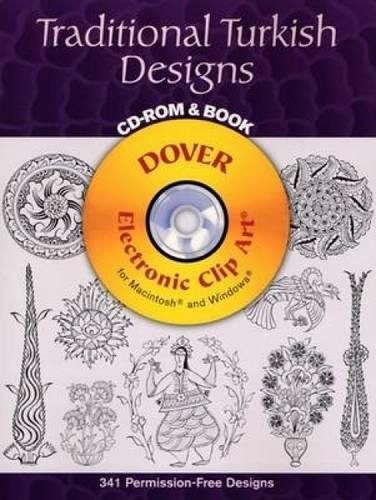 9780486996257: Traditional Turkish Designs CD-ROM and Book (Dover Electronic Clip Art)