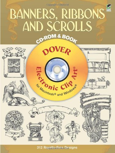 Banners, Ribbons and Scrolls (Book & CD-ROM)