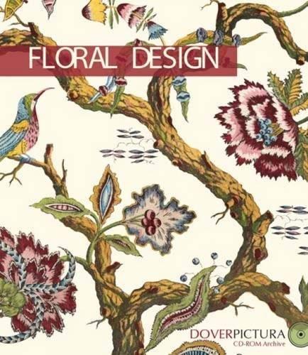 9780486996370: Floral Design (Dover Pictura Electronic Clip Art)