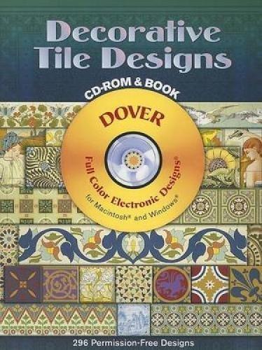 9780486996486: Decorative Tile Designs (Dover Electronic Clip Art)