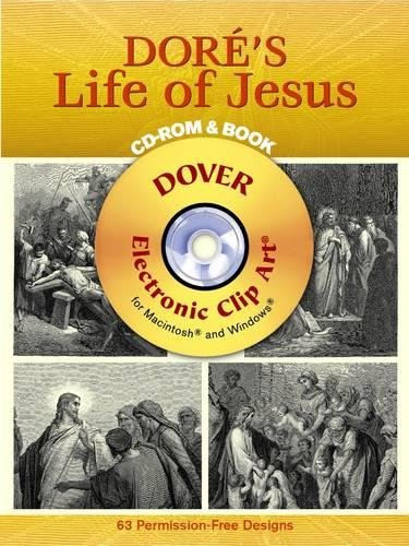 9780486996509: Doré's Life of Jesus CD-ROM and Book (Dover Electronic Clip Art)