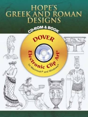 9780486996554: Hope's Greek and Roman Designs CD-ROM and Book (Dover Electronic Clip Art)