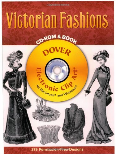 9780486996608: Victorian Fashions (Dover Electronic Clip Art)