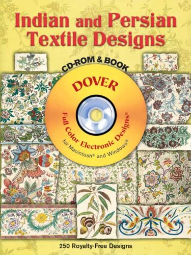 9780486997308: Indian And Persian Textile Designs