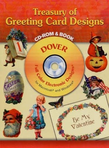 9780486997322: Treasury of Greeting Card Designs CD-ROM and Book (Dover Electronic Clip Art)