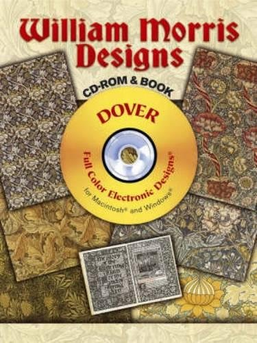 9780486997339: William Morris Designs CD-ROM and Book (Dover Electronic Clip Art)