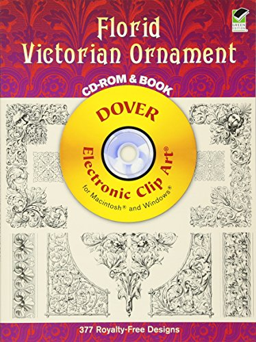9780486997384: Florid Victorian Ornament CD-ROM and Book (Dover Electronic Clip Art)