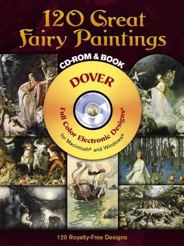 9780486997414: 120 Great Fairy Paintings CD-ROM and Book (Dover Electronic Clip Art)