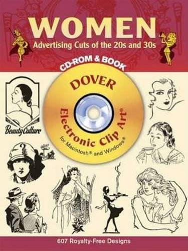 9780486997421: Women Advertising Cuts of the 20s And 30s