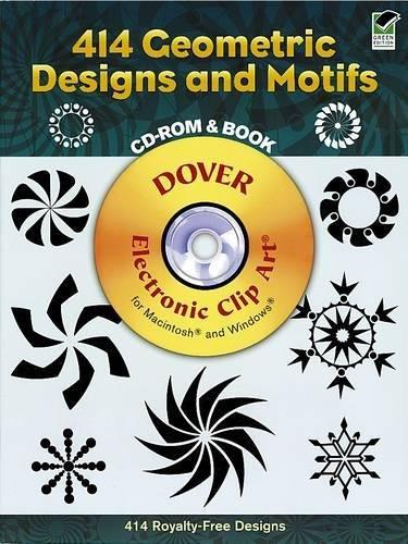 9780486997476: 414 Geometric Designs and Motifs