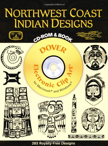 9780486997483: Northwest Coast Indian Designs (Dover Electronic Clip Art) (CD-ROM and Book)