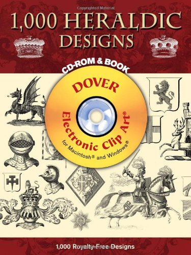 9780486997629: 1700 Heraldic Designs (Dover Electronic Clip Art)