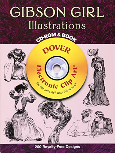 9780486997636: Gibson Girl Illustrations CD-ROM and Book (Dover Electronic Clip Art)