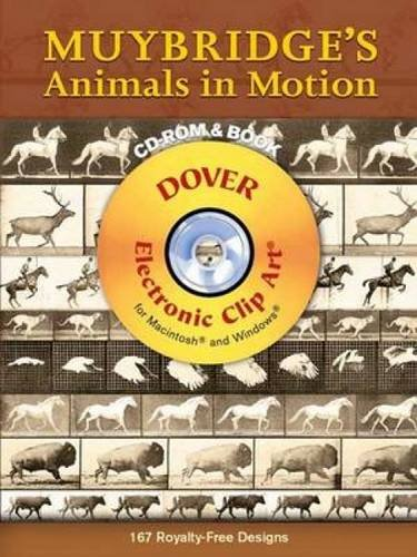 9780486997674: Muybridge's Animals in Motion (Dover Electronic Clip Art) (CD-ROM and Book)