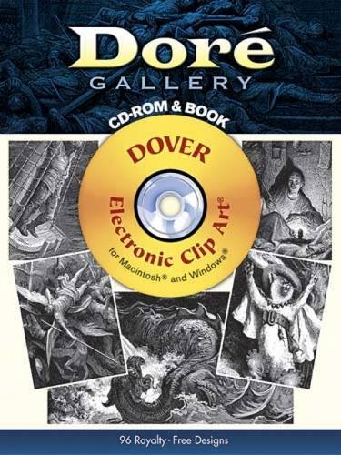 9780486997698: Doré Gallery CD-ROM and Book (Dover Electronic Clip Art)