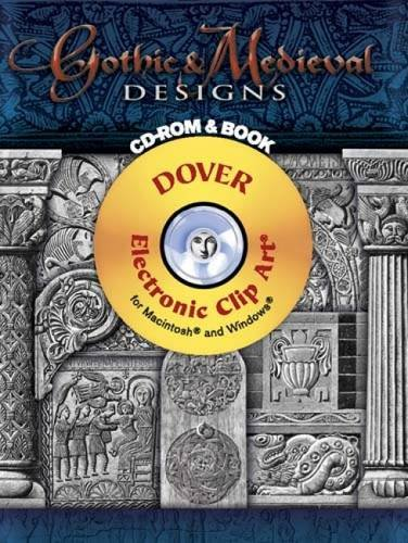 9780486998237: Gothic & Medieval Designs CD-ROM and Book (Dover Electronic Clip Art)