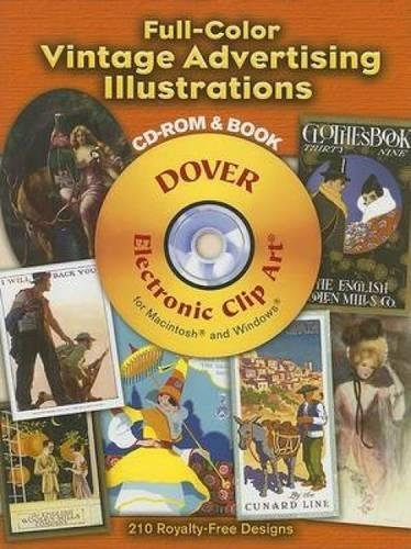 9780486998275: Full-Color Vintage Advertising Illustrations CD-ROM and Book (Dover Electronic Clip Art)