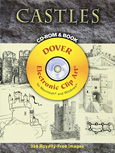 9780486998282: Castles CD-ROM and Book (Dover Electronic Clip Art)