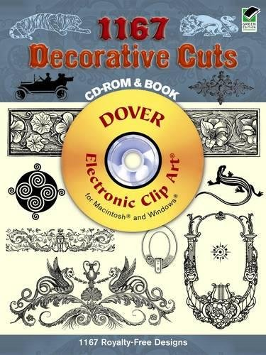 9780486998329: 1167 Decorative Cuts (Dover Electronic Clip Art)