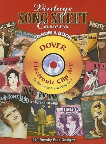 9780486998381: Vintage Song Sheet Covers
