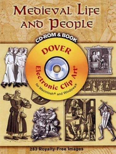 9780486998527: Medieval Life and People (Dover Electronic Clip Art)