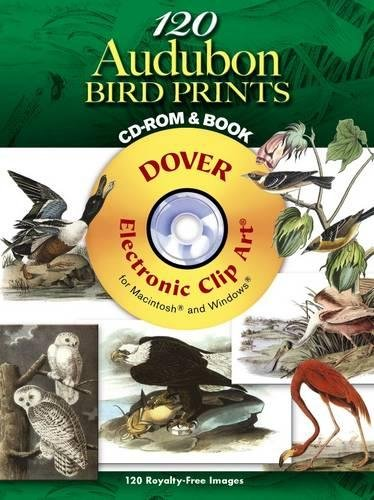 9780486998541: 120 Audubon Bird Prints (Dover Electronic Clip Art) (CD-ROM and Book)