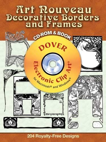 9780486998602: Art Nouveau Decorative Borders and Frames