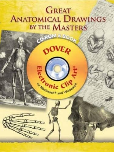 9780486998671: Great Anatomical Drawings by the Masters (Dover Electronic Clip Art)