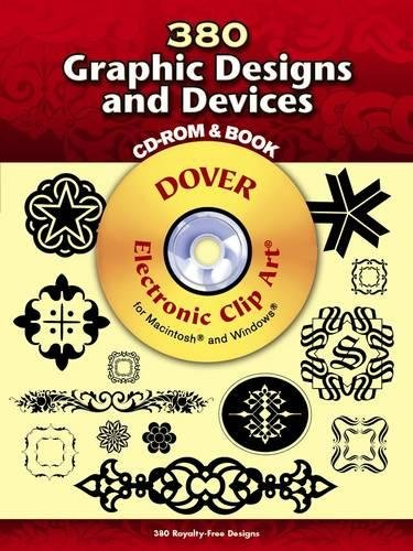 9780486998794: 380 Graphic Designs and Devices (Dover Electronic Clip Art) (CD-ROM and Book)