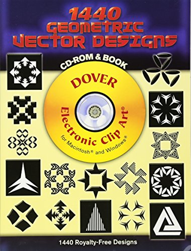 1440 Geometric Vector Designs CD-ROM and