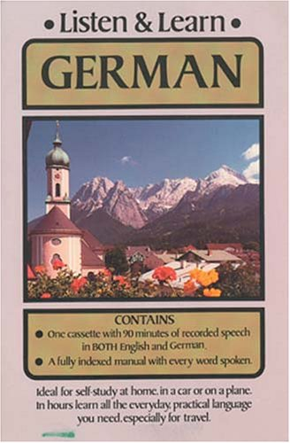 9780486999159: Listen & Learn German (Listen and Learn)