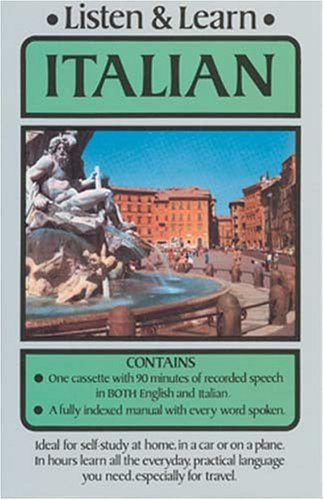 Listen & Learn Italian (Listen and Learn: Audio Cassette Plus Book): Dover