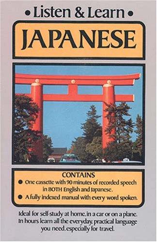 9780486999173: Listen & Learn Japanese (Dover's Listen and Learn Series)