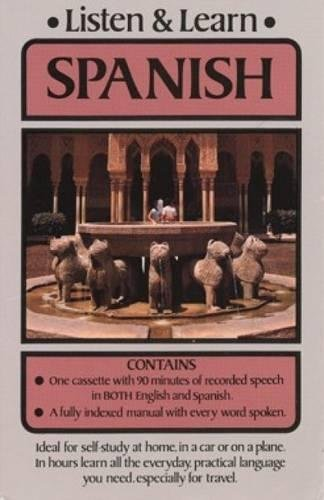 9780486999180: Dover's Listen and Learn Spanish (Includes Single Cassette and Booklet)