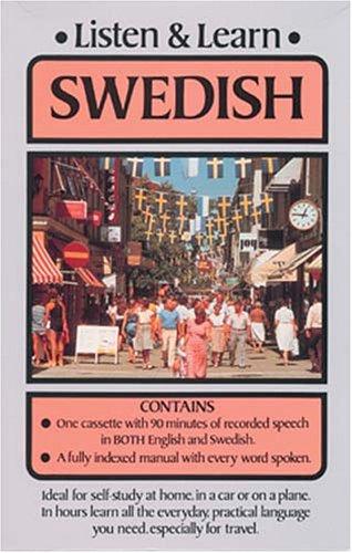 9780486999227: Listen & Learn Swedish (Listen and Learn Series)