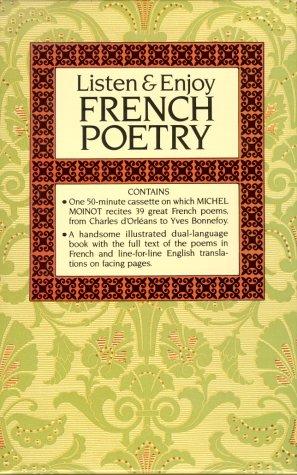 9780486999272: Listen and Enjoy French Poetry (Cassette Edition) (Listen & Enjoy Cassettes Series)