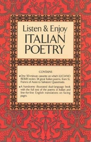 9780486999302: Listen & Enjoy Italian Poetry (Cassette Edition) (Dover Language Guides Listen and Learn)