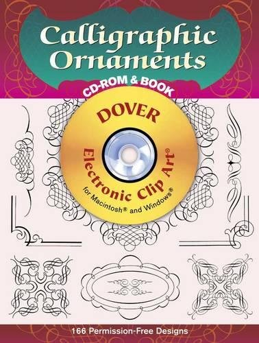 9780486999395: Calligraphic Ornaments CD-ROM and Book (Dover Electronic Clip Art)