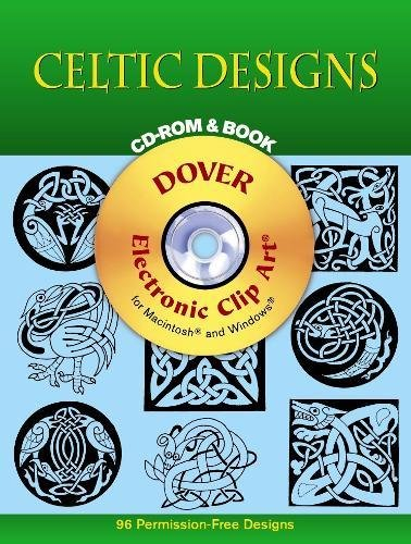 9780486999401: Celtic Designs CD-ROM and Book (Dover Electronic Clip Art)