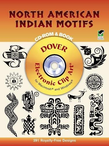 9780486999456: North American Indian Motifs CD-ROM and Book (Dover Electronic Clip Art)